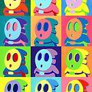 Warhol Shyguys by Katie Clark