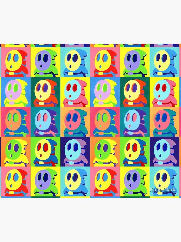 Warhol Shyguys by KatieClarkArt