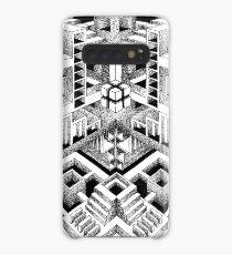 Escher's playground Case/Skin for Samsung Galaxy