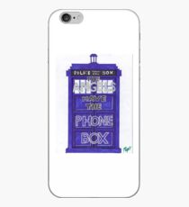 Tardis The Angels Have the Phone Box iPhone Case