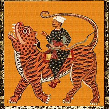 Riding the Tiger by mindprintz