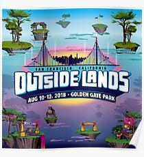 outside lands 2018 tour pulang Poster