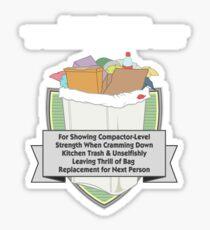 Everyday Hero Award: Garbage Sticker