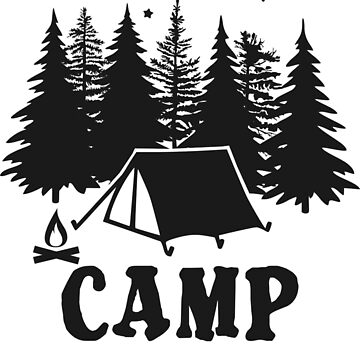 CAMP SQUAD #CAMPSQUAD - POPULAR CAMPING DESIGN by NotYourDesign