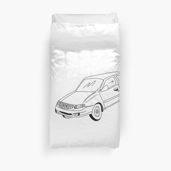 My Friends' Cars - Altima Duvet Cover
