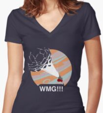 Star Blazers WMG!!! Women's Fitted V-Neck T-Shirt