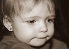 Little Girl Deep In Thoughts von Evita