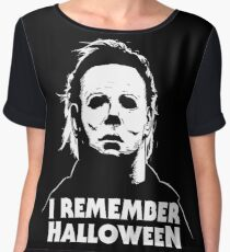 I Remember Halloween - Michael Myers Chiffon Top