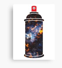 Cosmic Graffiti Canvas Print