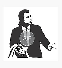 John Travolta GIF Photographic Print