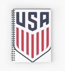 US-amerikanischer Fußball Spiralblock