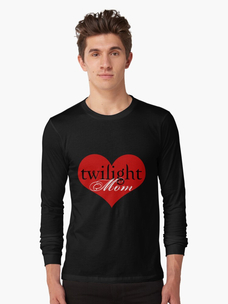 Twilight Mom Heart T-Shirt by fifilaroach