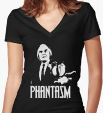 Phantasm - Tall Man Women's Fitted V-Neck T-Shirt