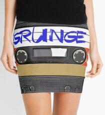 Grunge Music Mini Skirt