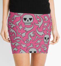 Skulls for life Mini Skirt