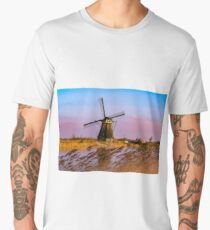 Kinderdijk, Holland Men's Premium T-Shirt
