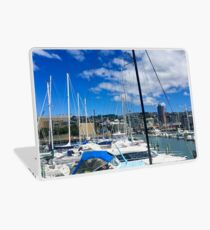 Yachts And Masts Laptop Skin