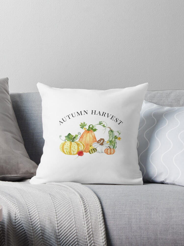 Autumn Harvest with Pumpkins & Gourds by Ann Drake