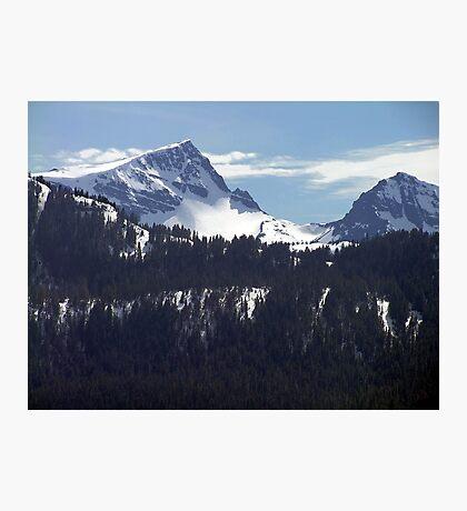 Strathcona Park Mountains Photographic Print