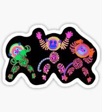 Fantasmic! Monkeys Sticker