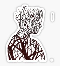 Connecting To Nature Sticker