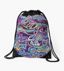 Hexagram 51: Zhèn (Thunder-Shock) Drawstring Bag