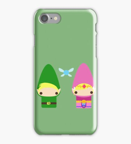 Gnome Link and Zelda iPhone Case/Skin