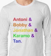 Fab Five (Rainbow) Long Sleeve T-Shirt