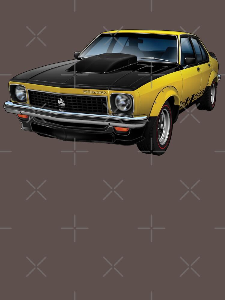 Australian Muscle Car - Torana SLR/5000 by tshirtgarage
