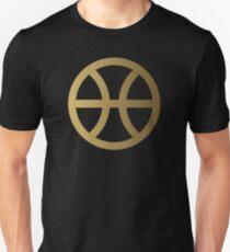 PISCIS SYMBOL GOLD T-Shirt