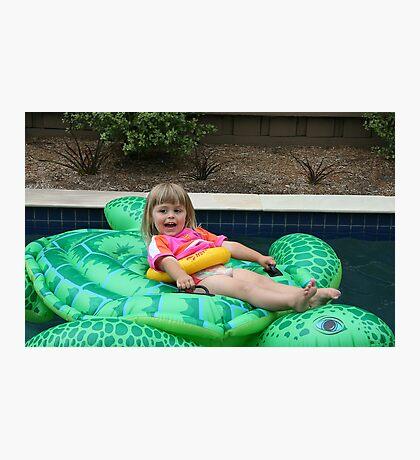 Pool Fun Photographic Print