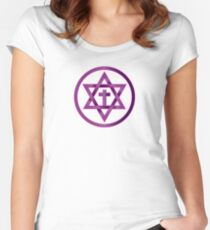 ONENESS Women's Fitted Scoop T-Shirt