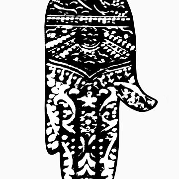 HAMSA - THE HAND OF GOD by fashionforlove