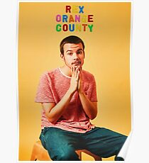 REX ORANGE COUNTY Poster