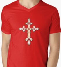 LA CRUZ DE GONZALO Men's V-Neck T-Shirt