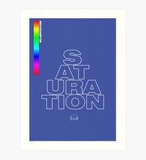BROCKHAMPTON SATURATION Art Print