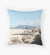 Storm Clouds over Mt. Yarrahappini, Sth, West Rocks. Throw Pillow