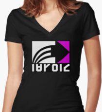 Inkling Brand Women's Fitted V-Neck T-Shirt