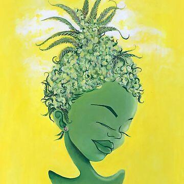 Pineapple Empress Sweet Chiba baby by Ashboogeydotcom