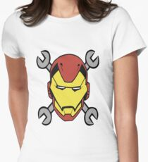 Iron Roger Women's Fitted T-Shirt