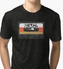Heavy metal Music band logo Tri-blend T-Shirt