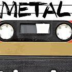 Heavy metal Music band logo by RestlessSoul