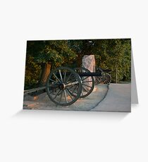 Silent Guns Greeting Card