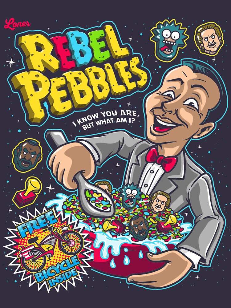 Rebel Pebbles by Punksthetic