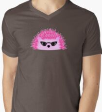 Hedgy Pricklypear Flair Men's V-Neck T-Shirt