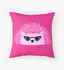 Hedgy Pricklypear Flair Throw Pillow