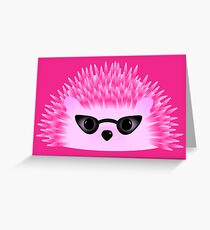 Hedgy Pricklypear Flair Greeting Card