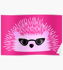 Hedgy Pricklypear Flair Poster