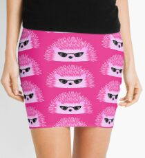 Hedgy Pricklypear Flair Mini Skirt