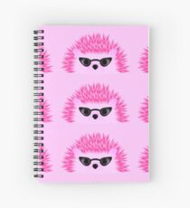 Hedgy Pricklypear Flair Spiral Notebook